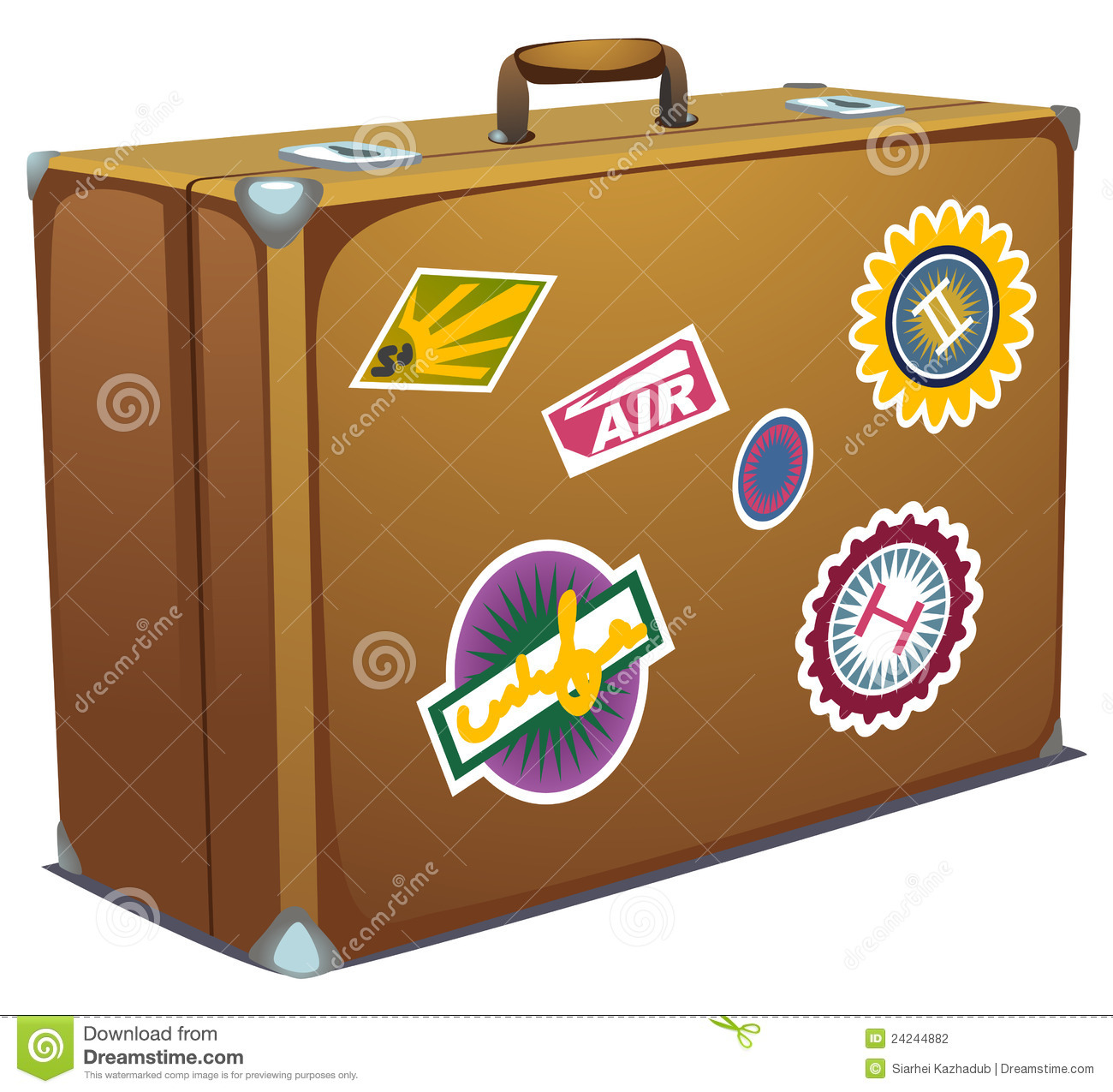 Suitcase Stock Photography - Image: 24244882