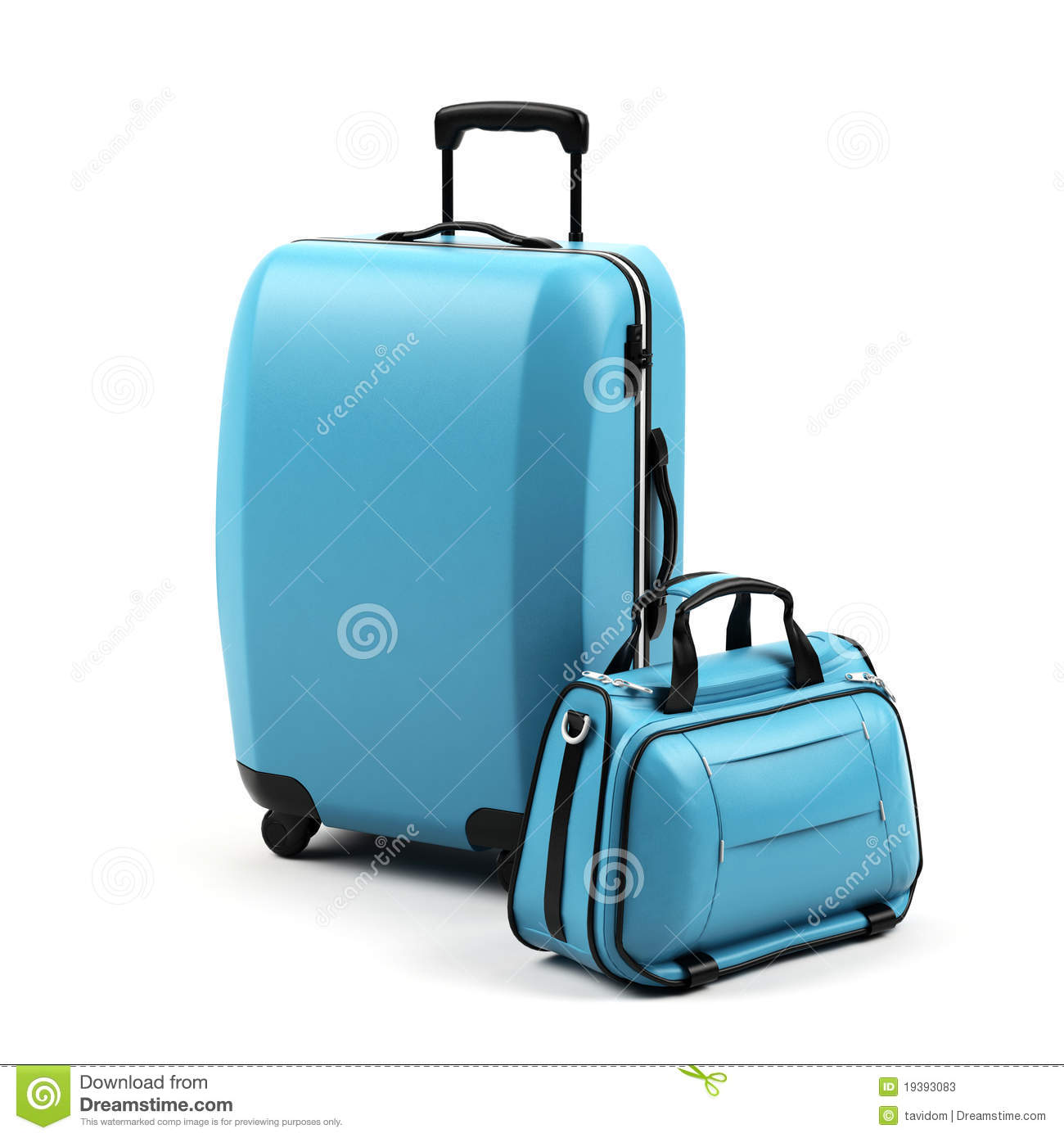 Suitcases. Stock Photos - Image: 19393083