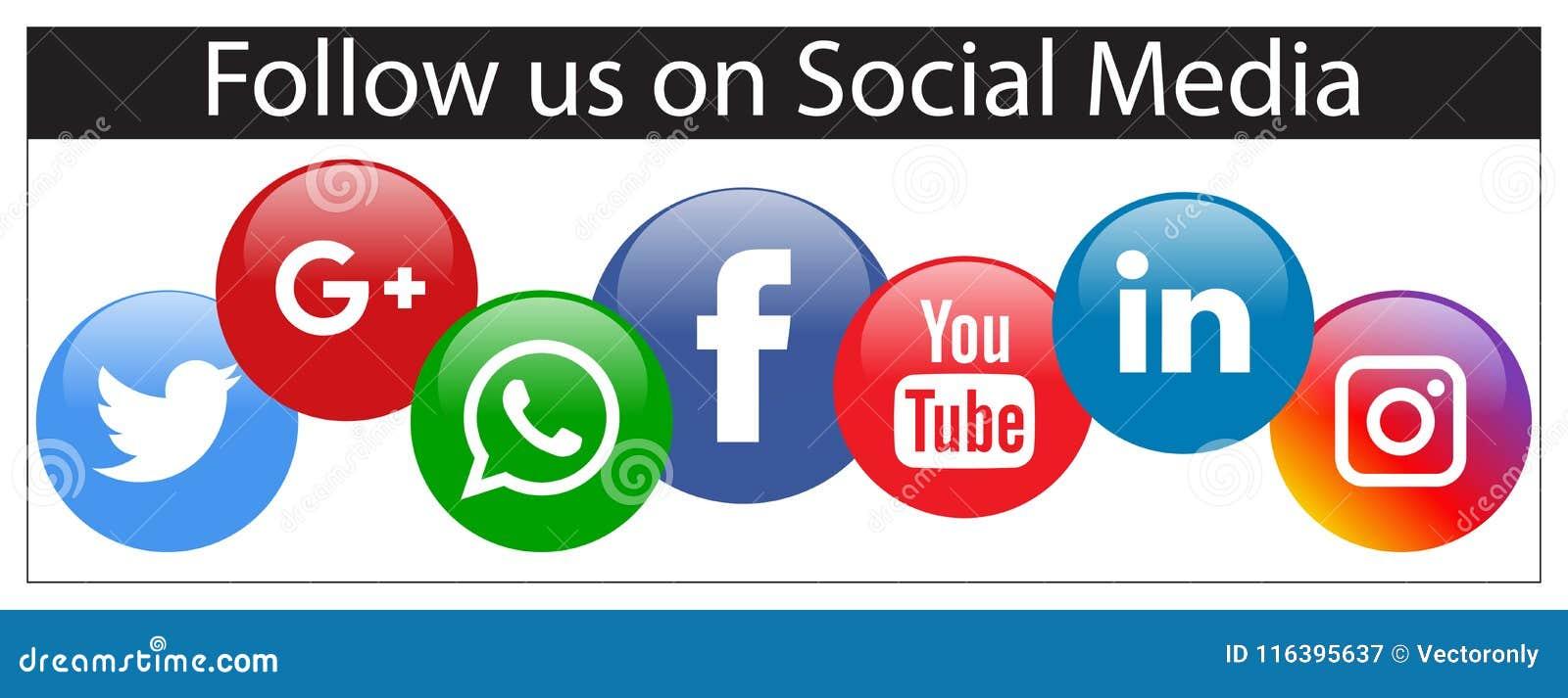 Suivez-nous sur la bannière sociale de media
