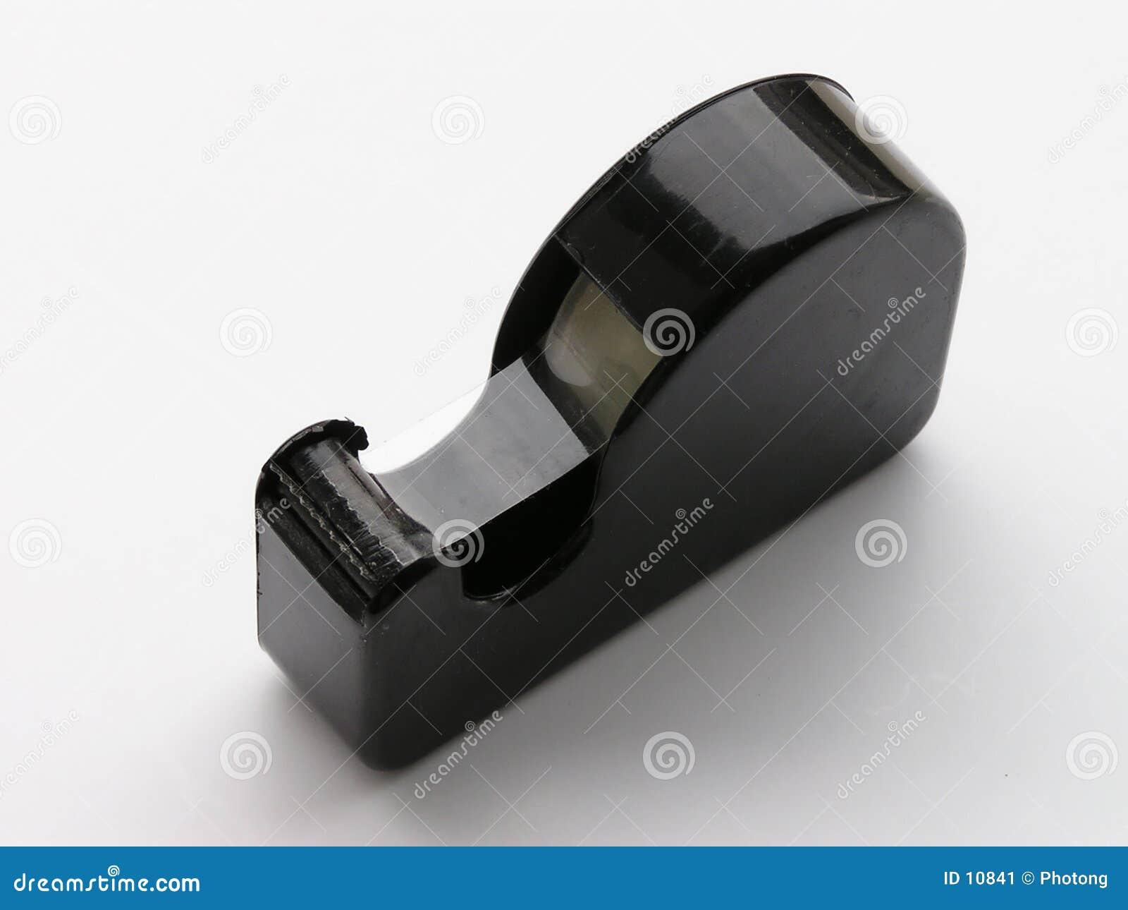 Sujete con cinta adhesiva el dispensador