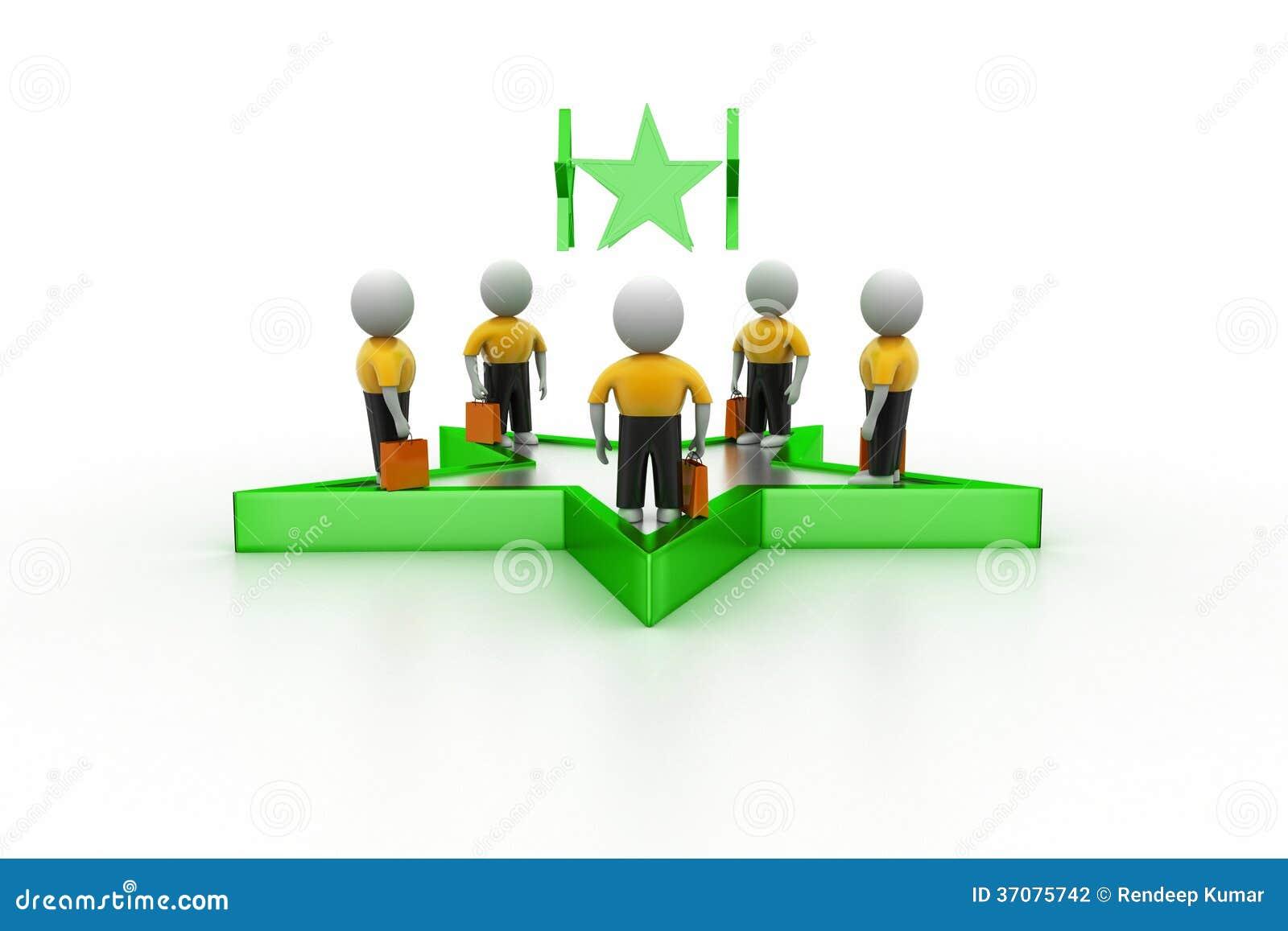Download Sukces biznesowy pojęcie ilustracji. Ilustracja złożonej z spotkanie - 37075742