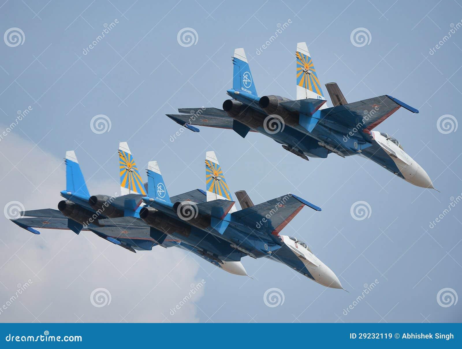 Download Sukhoi 27s imagem de stock editorial. Imagem de piloto - 29232119