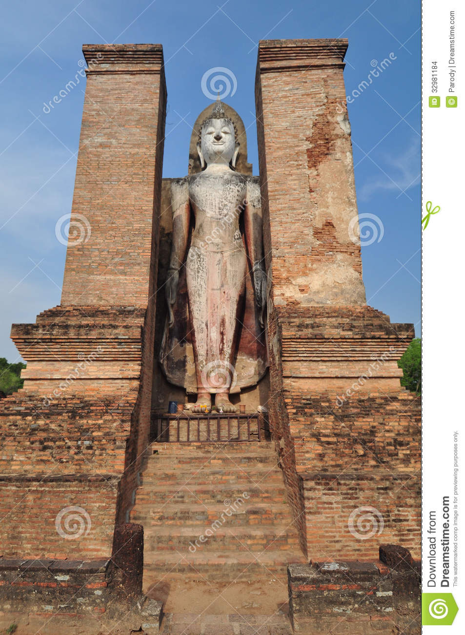 Sukhothai Ruin Old City Country Stock Images - Image: 32981184