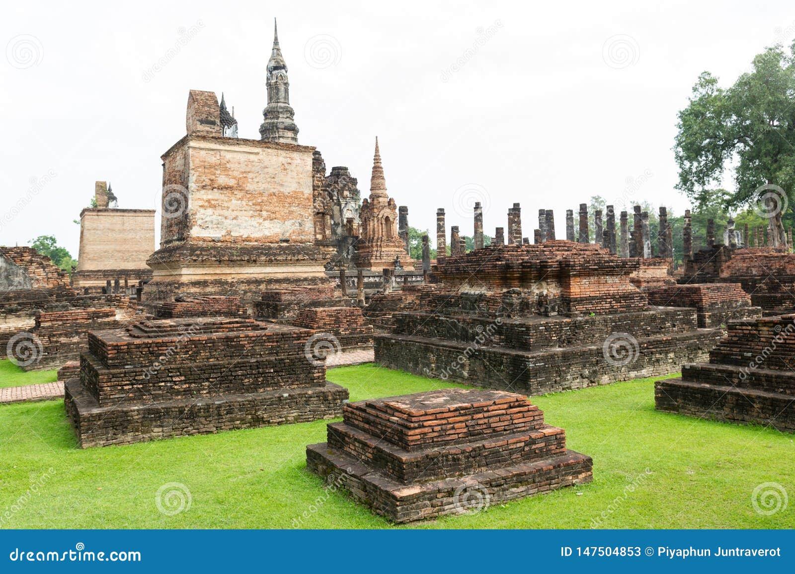 Sukhothai ? um centro hist?rico, e a primeira capital de Si?o