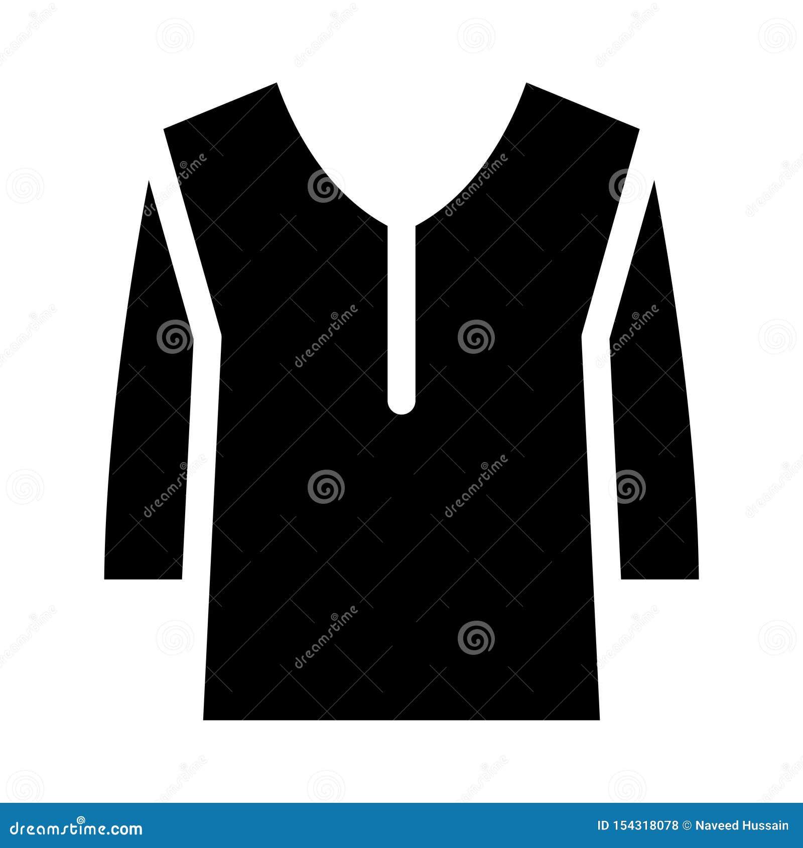 Sukiennego glifu płaska wektorowa ikona