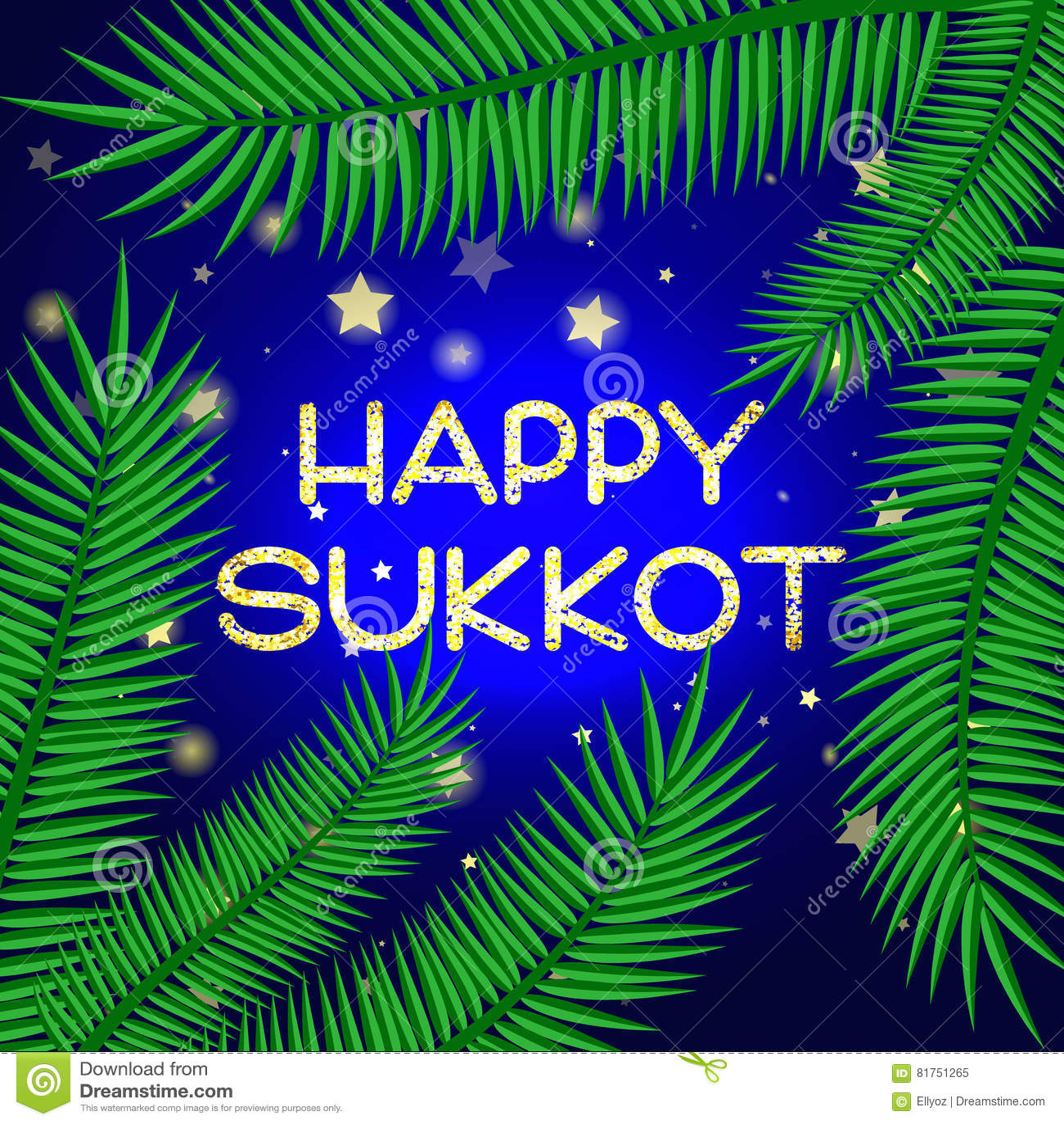 Sukkot festival greeting card stock vector illustration of sukkot festival greeting card m4hsunfo