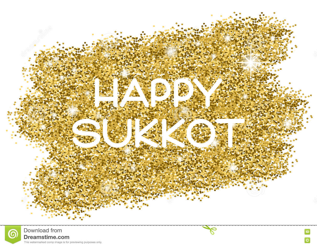 Sukkot Greeting Card Stock Vector Illustration Of Lights 79579895