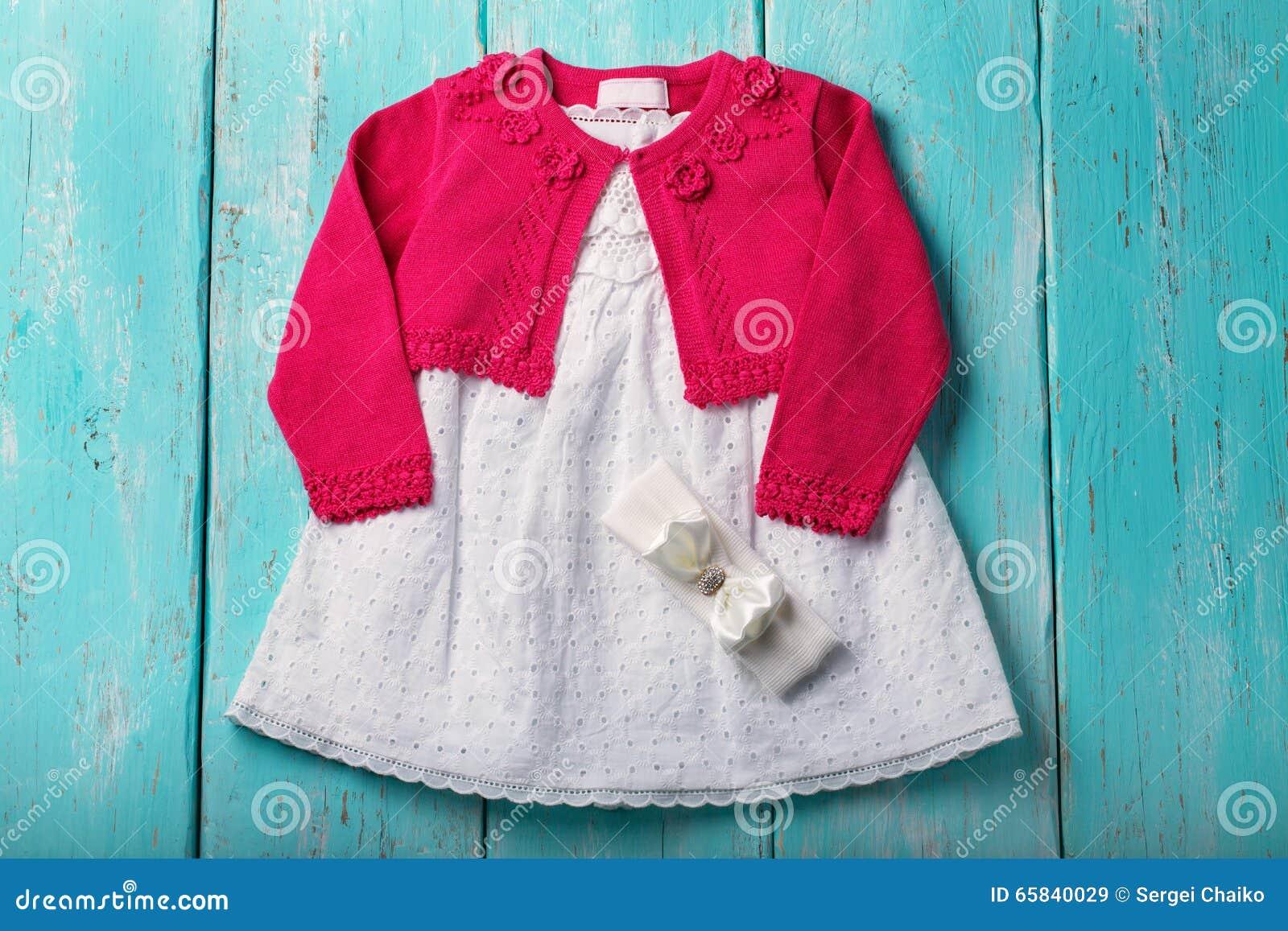 f148afea57 Suknia I Bolerko Dla Dzieci Obraz Stock - Obraz złożonej z ...