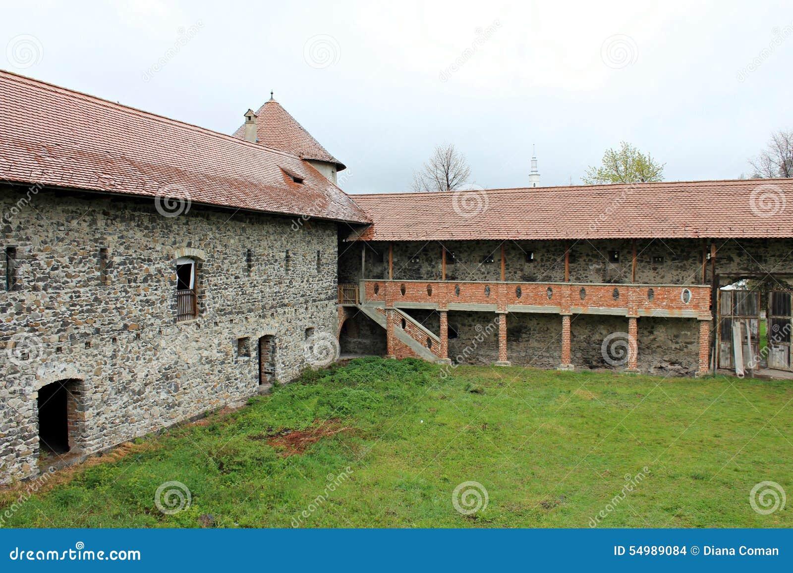 Sukosd-Bethlen slott i Racos, Transylvania (väggar)