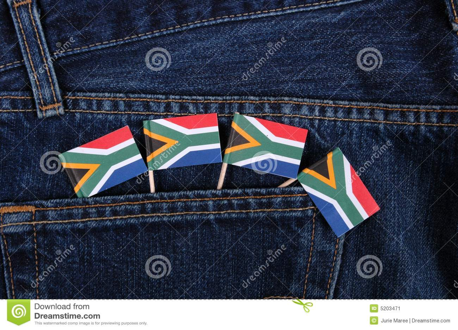 Sul - bandeiras africanas.