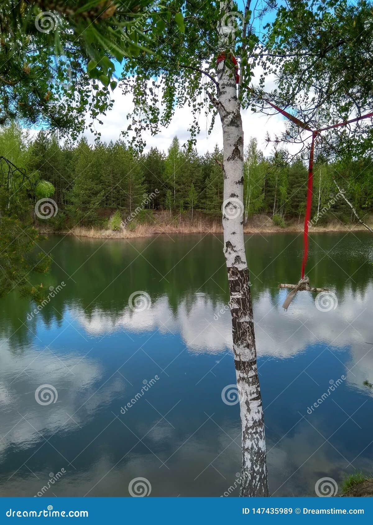 Sul lago ad estate