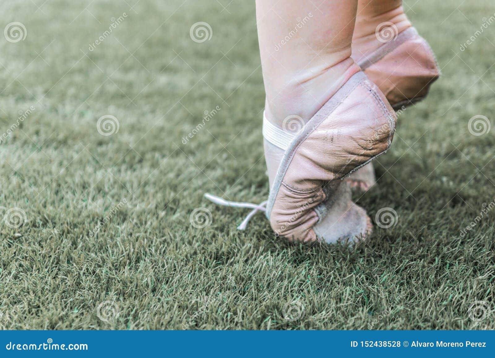 Sulla punta dei piedi nel balletto