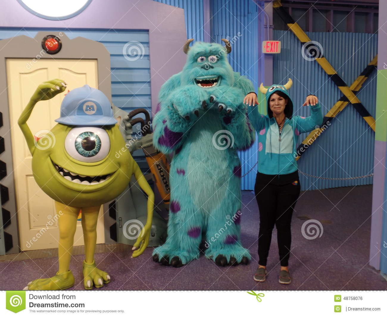 Sully And Mike Wazowski Editorial Photo Image 48758076