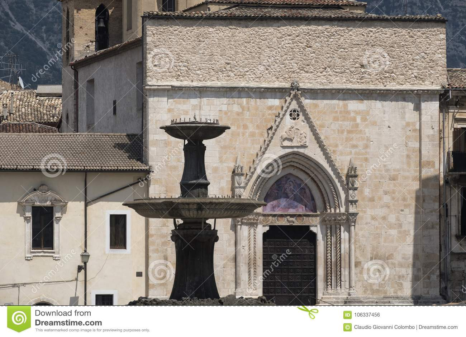 Sulmona Abruzzi, Italia, iglesia de San Filippo Neri