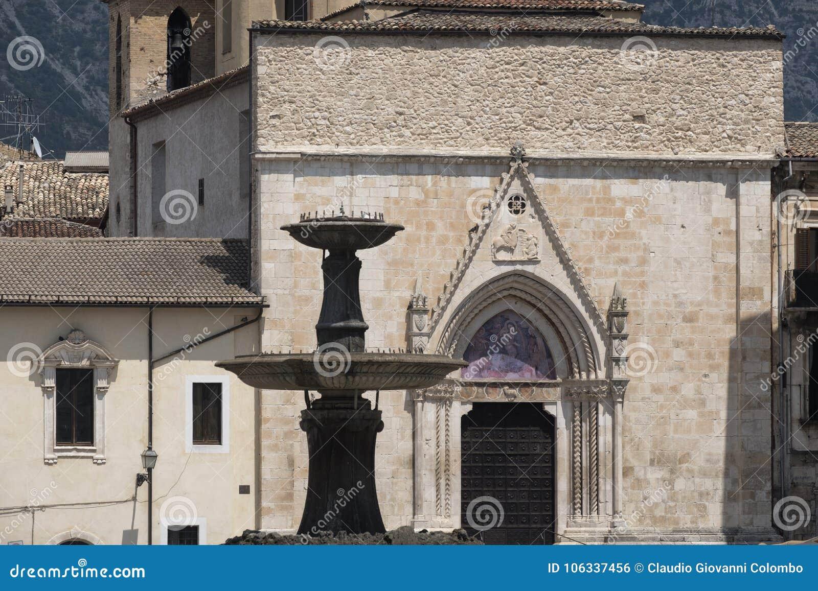 Sulmona Abruzzo, Ιταλία, εκκλησία SAN Filippo Neri