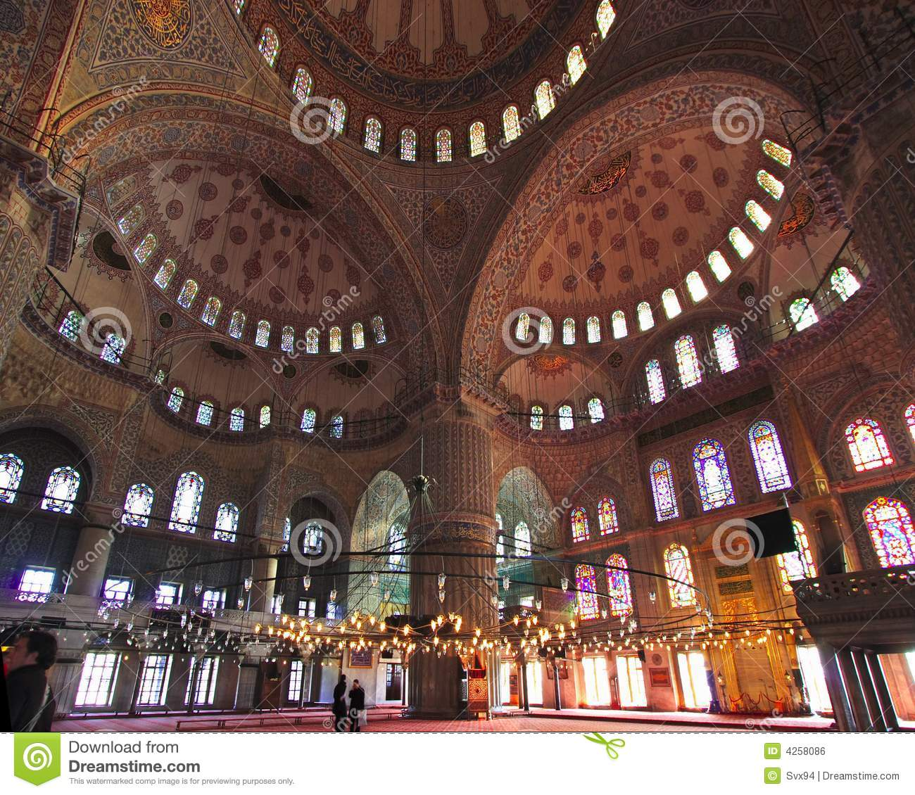 The Sultan Ahmed Mosque - Blue Mosque of Istanbul