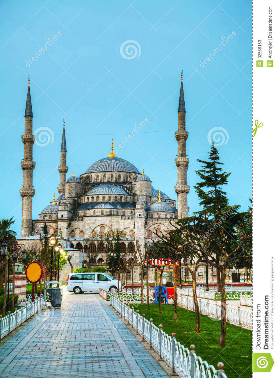 Sultan Ahmed Mosque (Blue Mosque) In Istanbul Stock Image ...