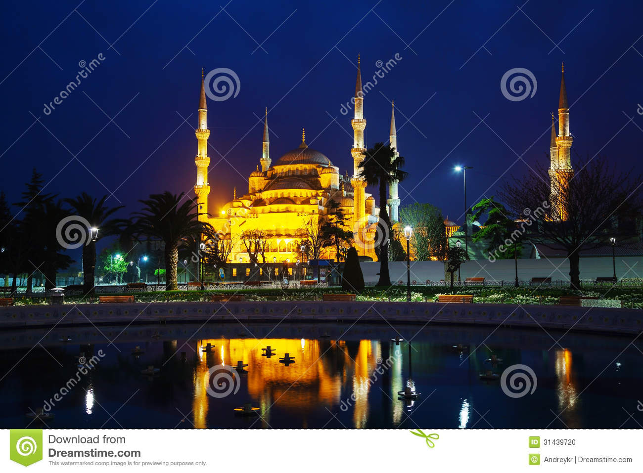 Download Sultan Ahmed Mosque (Blue Mosque) In Istanbul Stock Photo - Image of istanbul, europe: 31439720
