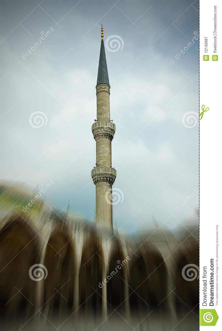 Sultan Ahmed Mosque (The Blue Mosque) in Turkey