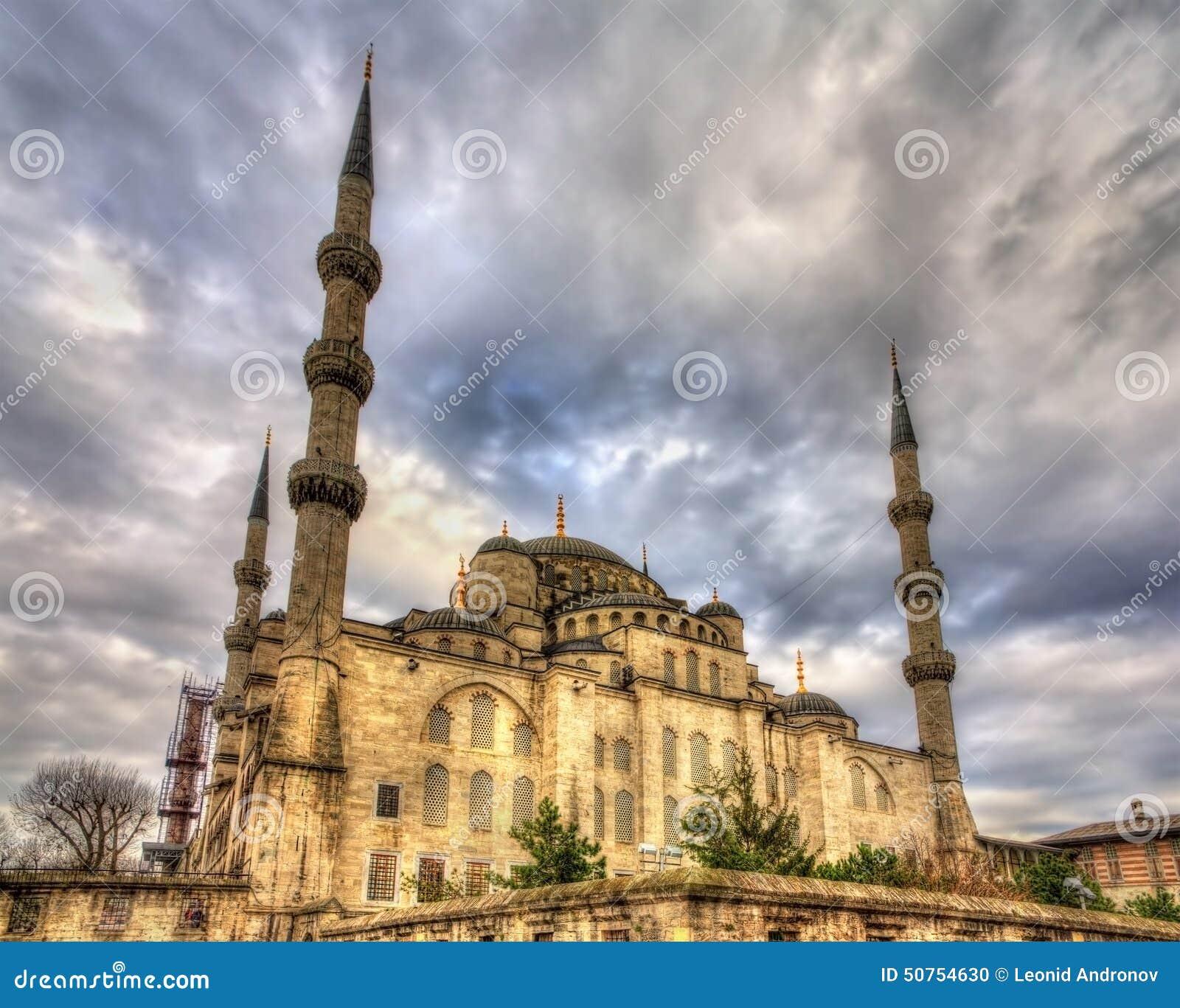 Sultan Ahmet Mosque (Blue Mosque) in Istanbul