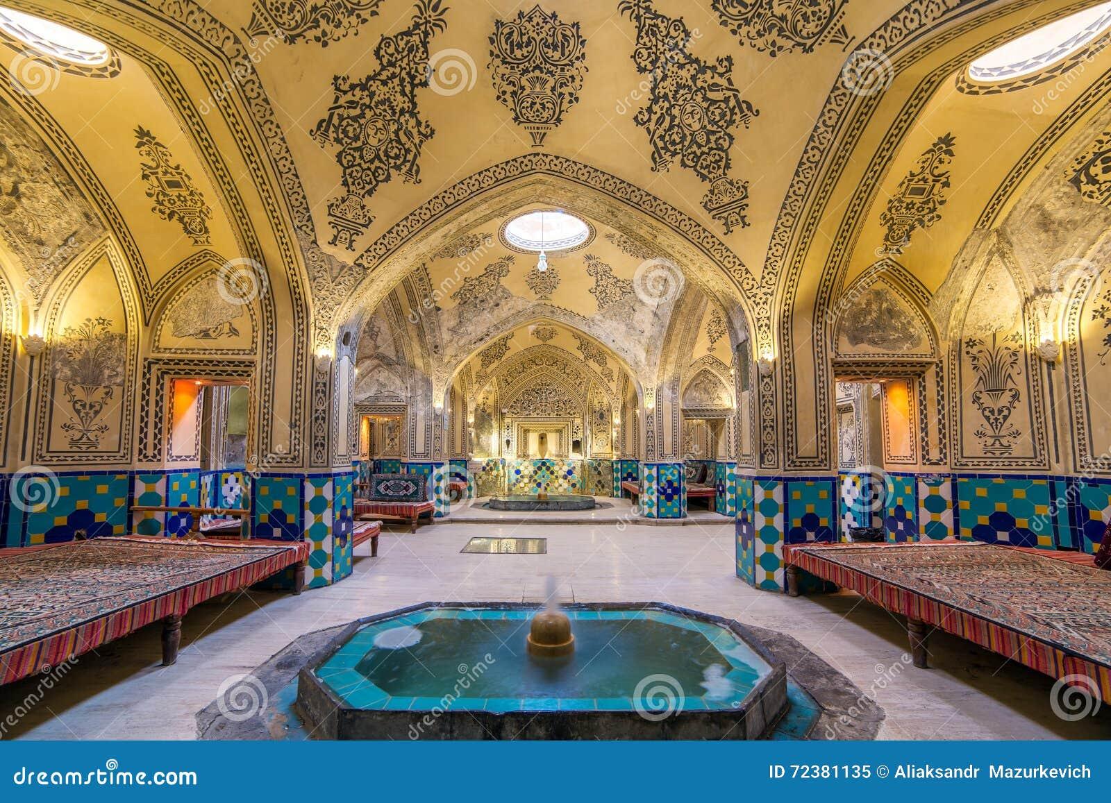Sultan Amir Ahmad historic bath, Iran