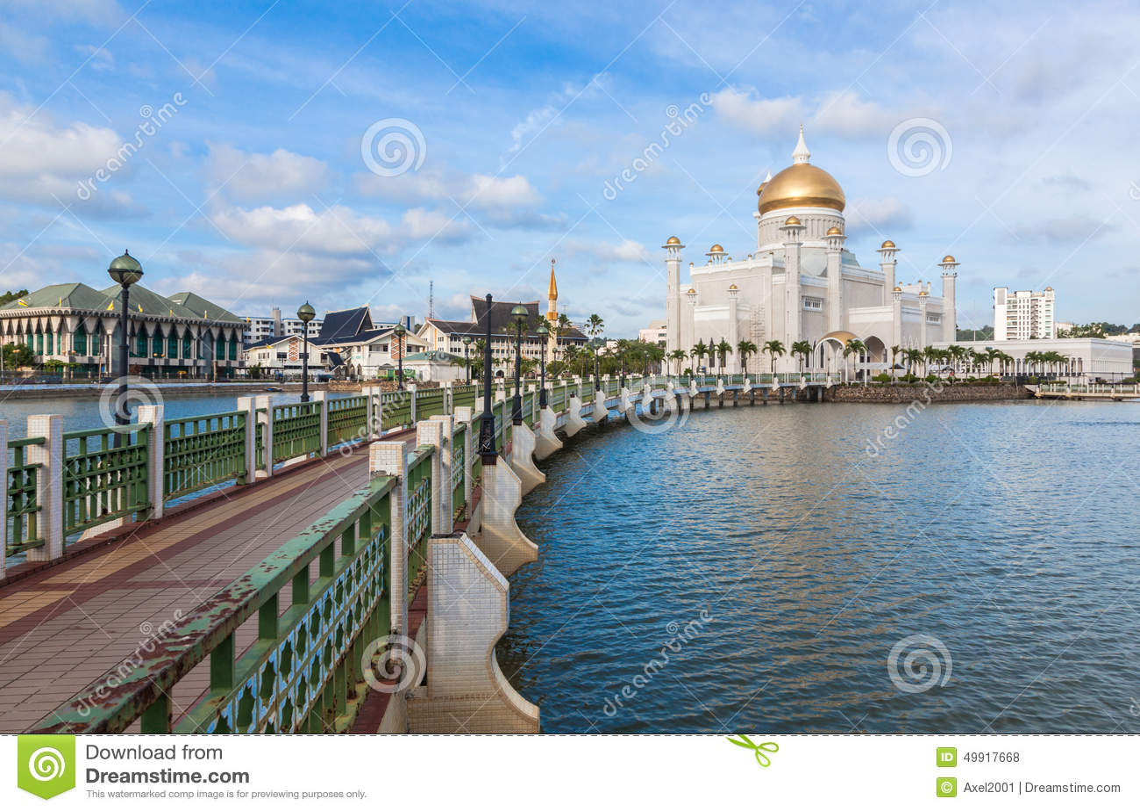 Sultan Omar Ali Saifuddin Mosque au Brunei