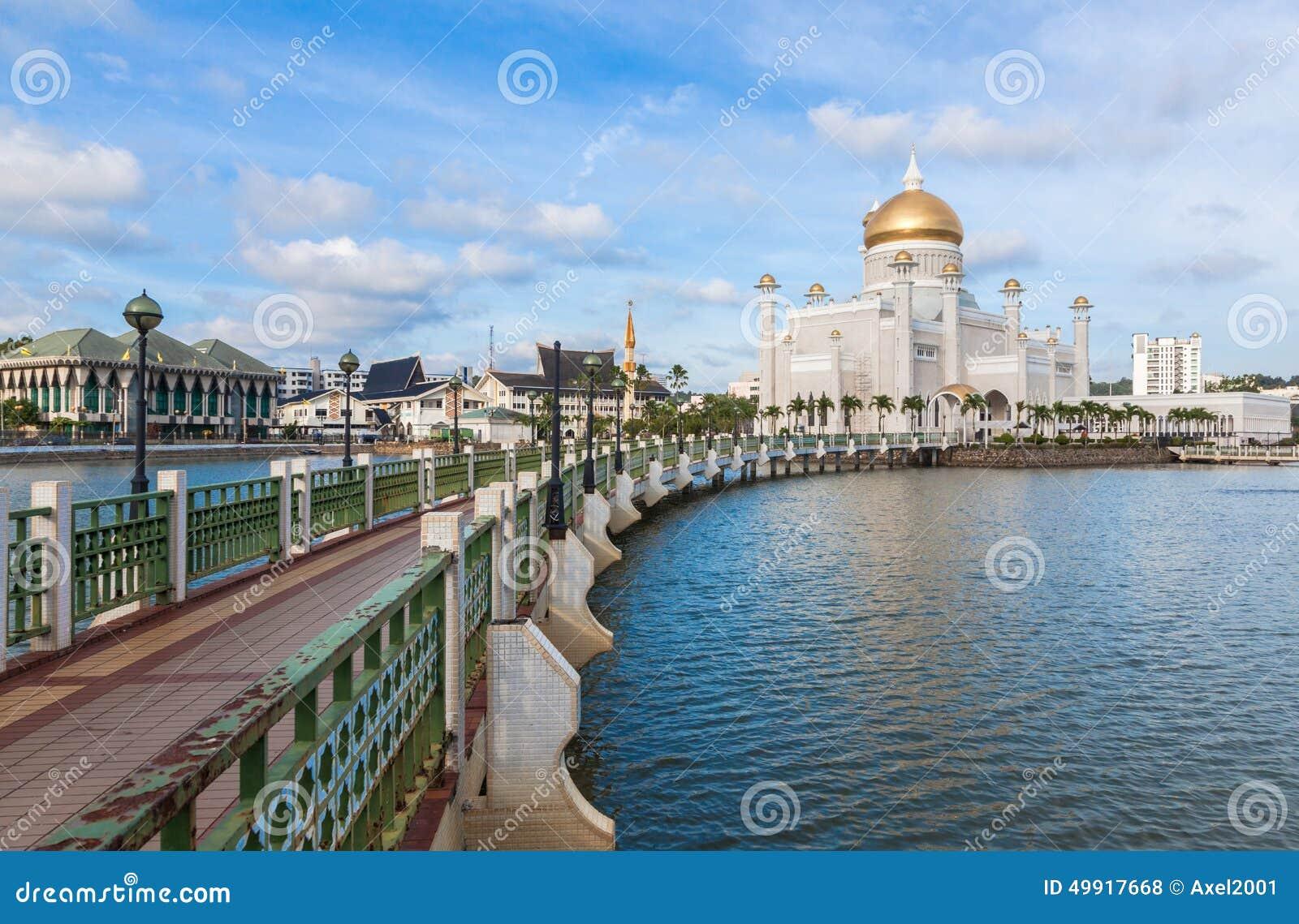 Sultan Omar Ali Saifuddin Mosque em Brunei Darussalam