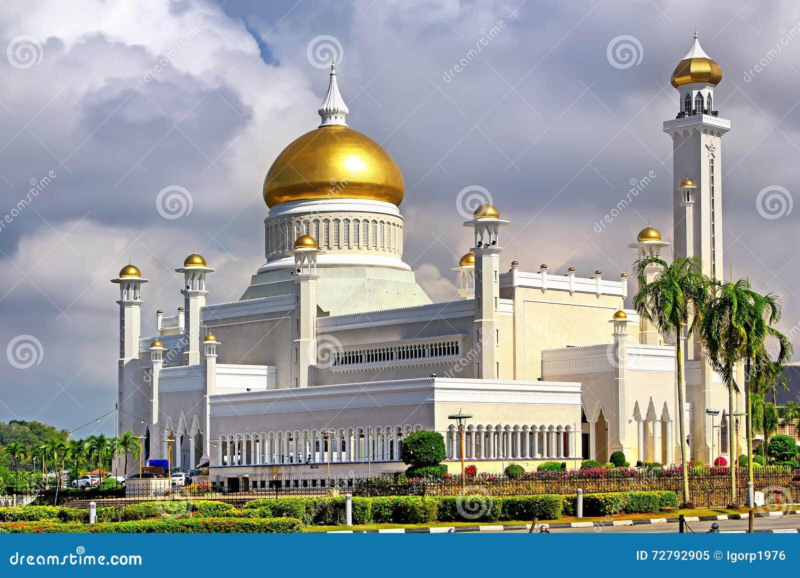 Sultan Omar Ali Saifudding Mosque Bandar Seri Begawan, Brunei,