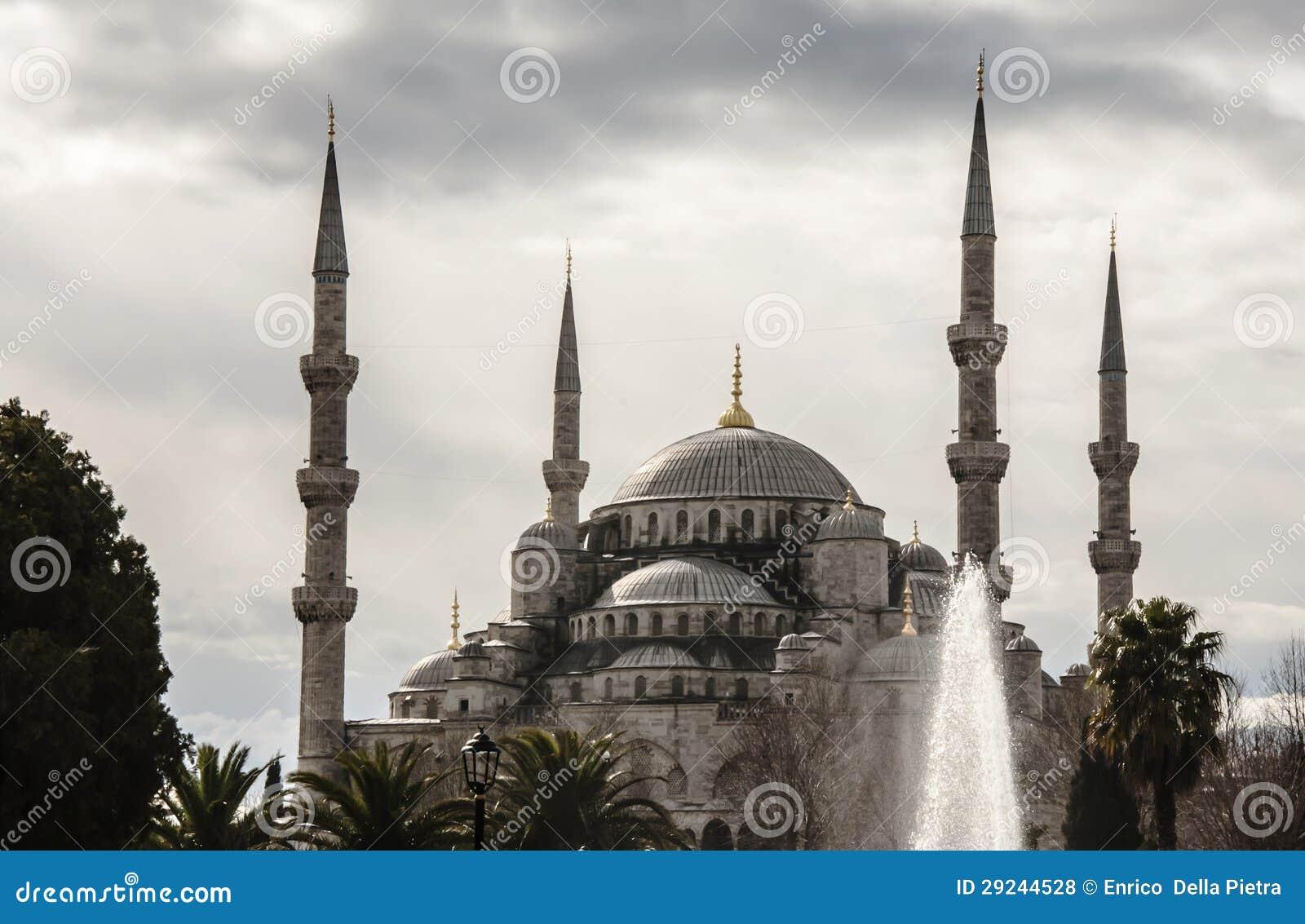 Download Sultanahmed foto de stock. Imagem de arquitetura, istambul - 29244528