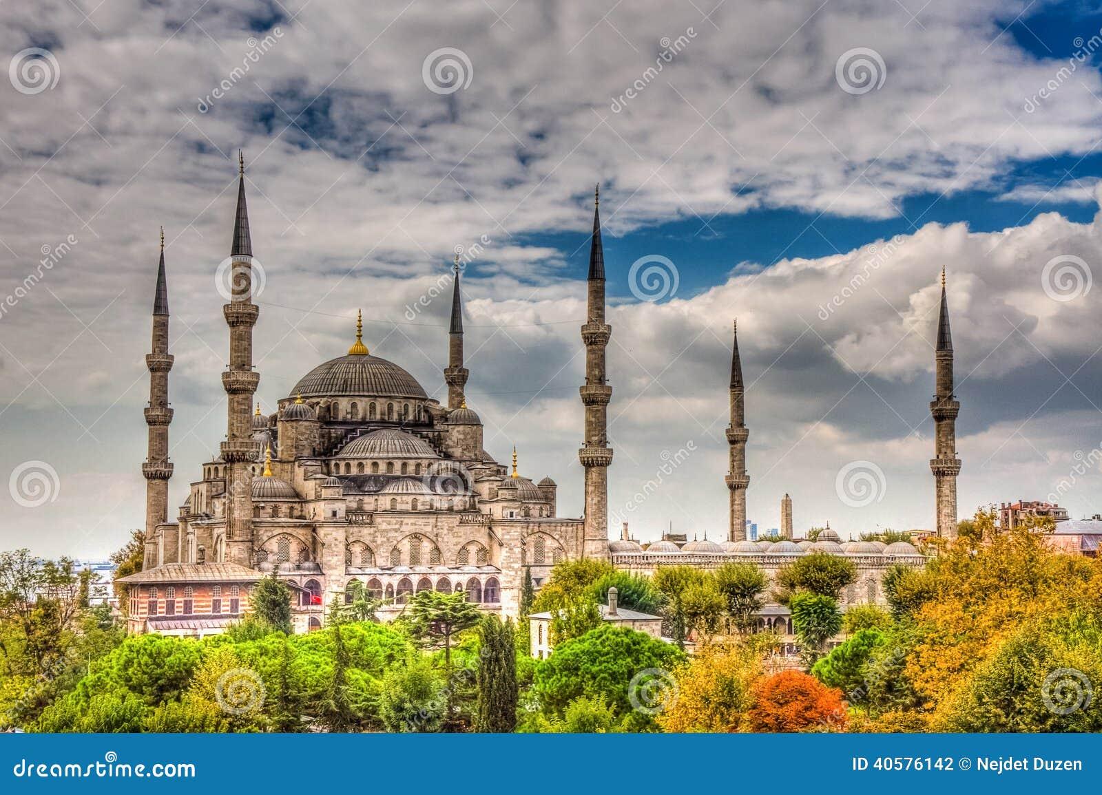 Sultanahmet мечети istanbul