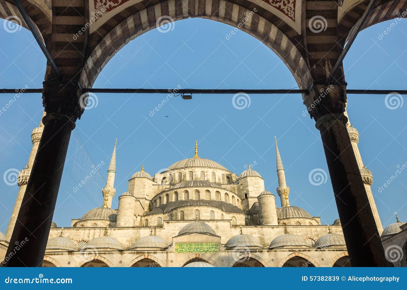 Sultanahmet, blauwe moskee & Hagia Sophia, Istanboel, Turkije
