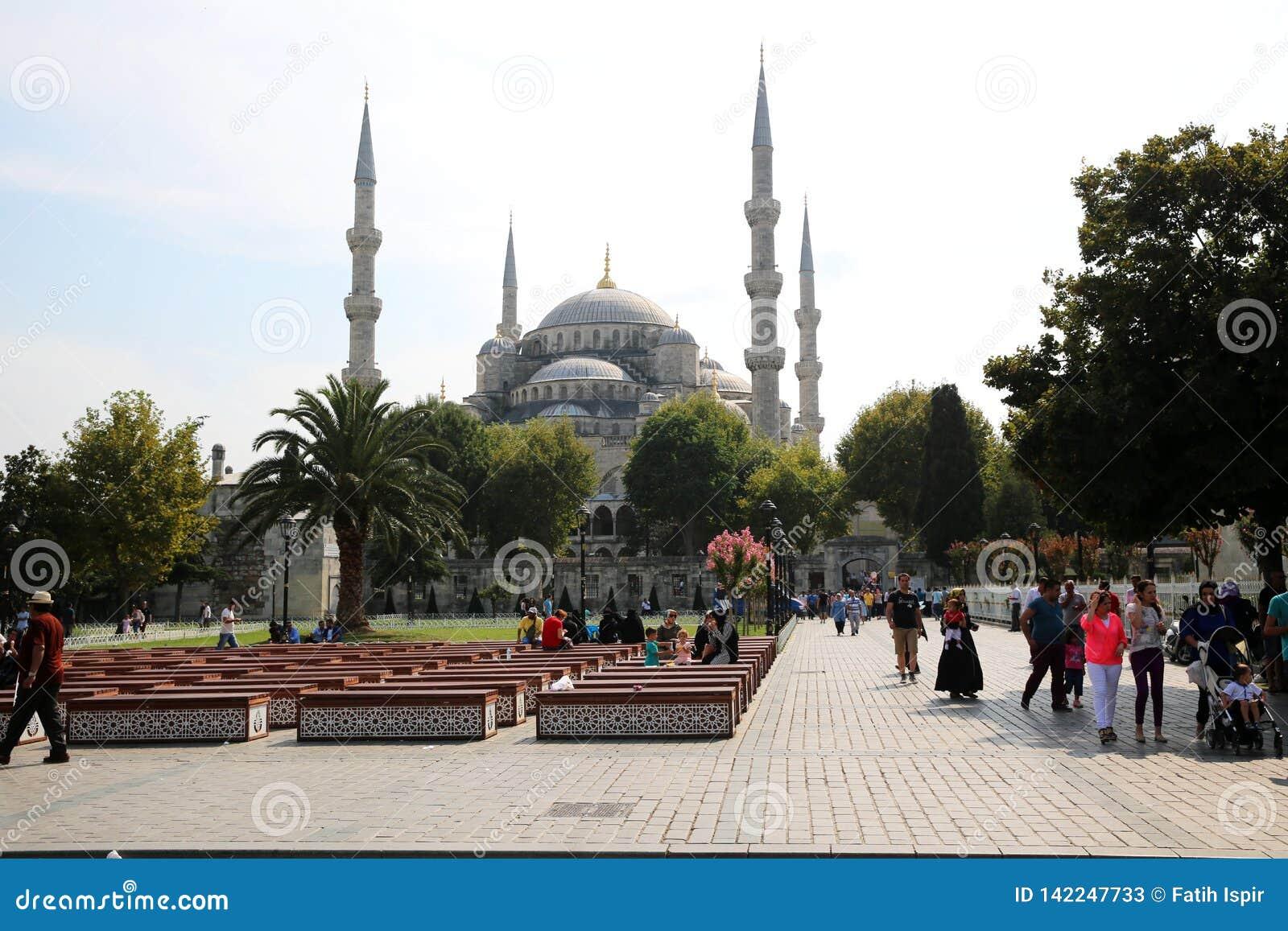 Sultanahmetmoskee in Istanboel