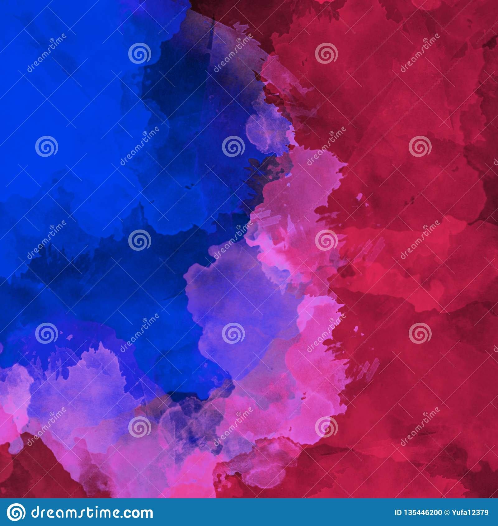 Sumário acrílico Close up da pintura Fundo abstrato colorido