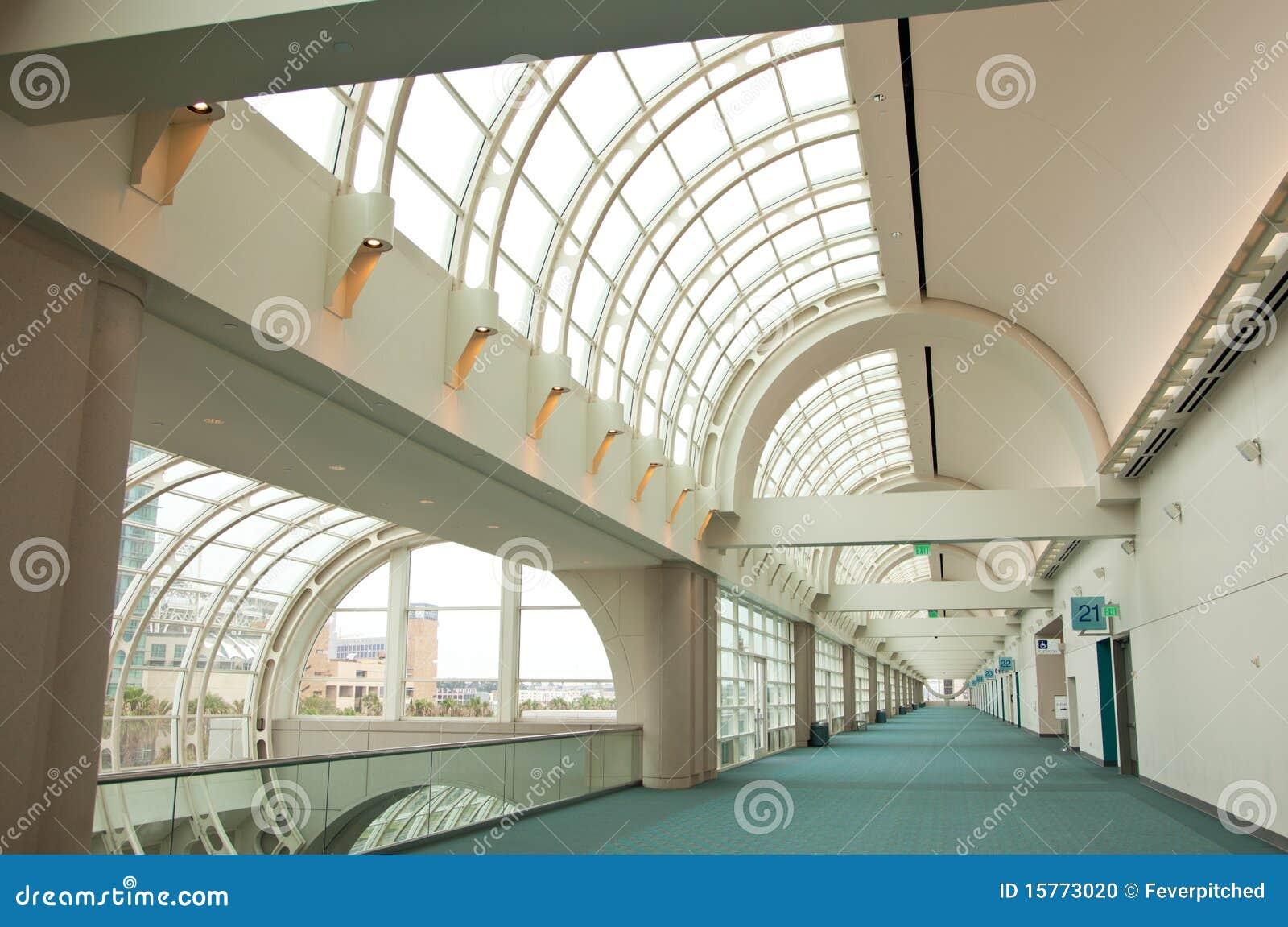 Sumário arquitectónico do centro de convenção de San Diego