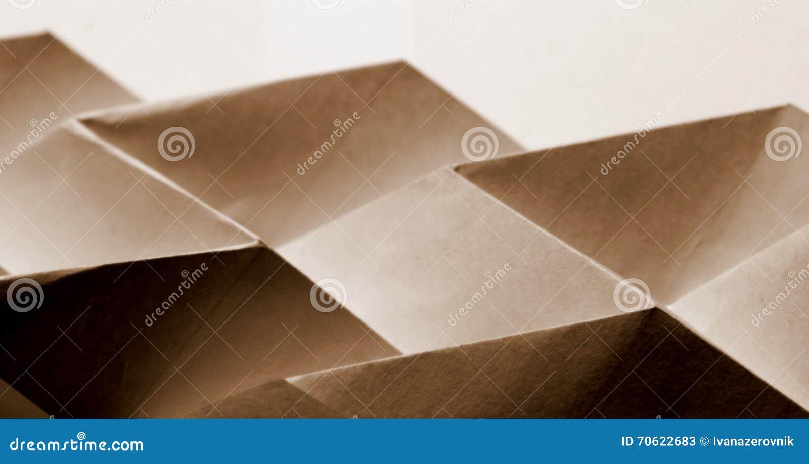 Sumário de papel dobrado