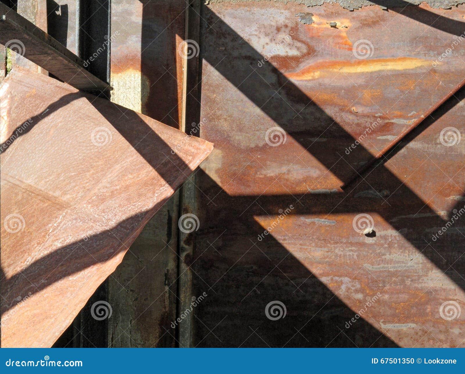 Sumário urbano da sombra da estrutura