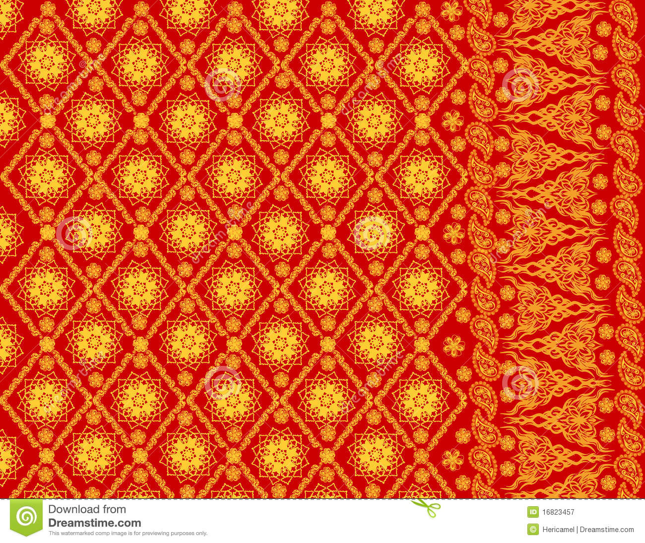 Sumatera Patter... Abstract Line Pattern Vector