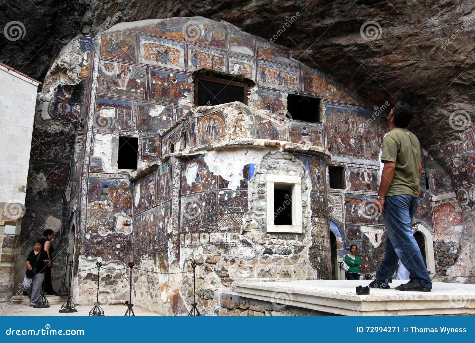 Sumela Monastery près de Trabzon sur la côte de la Mer Noire de la Turquie