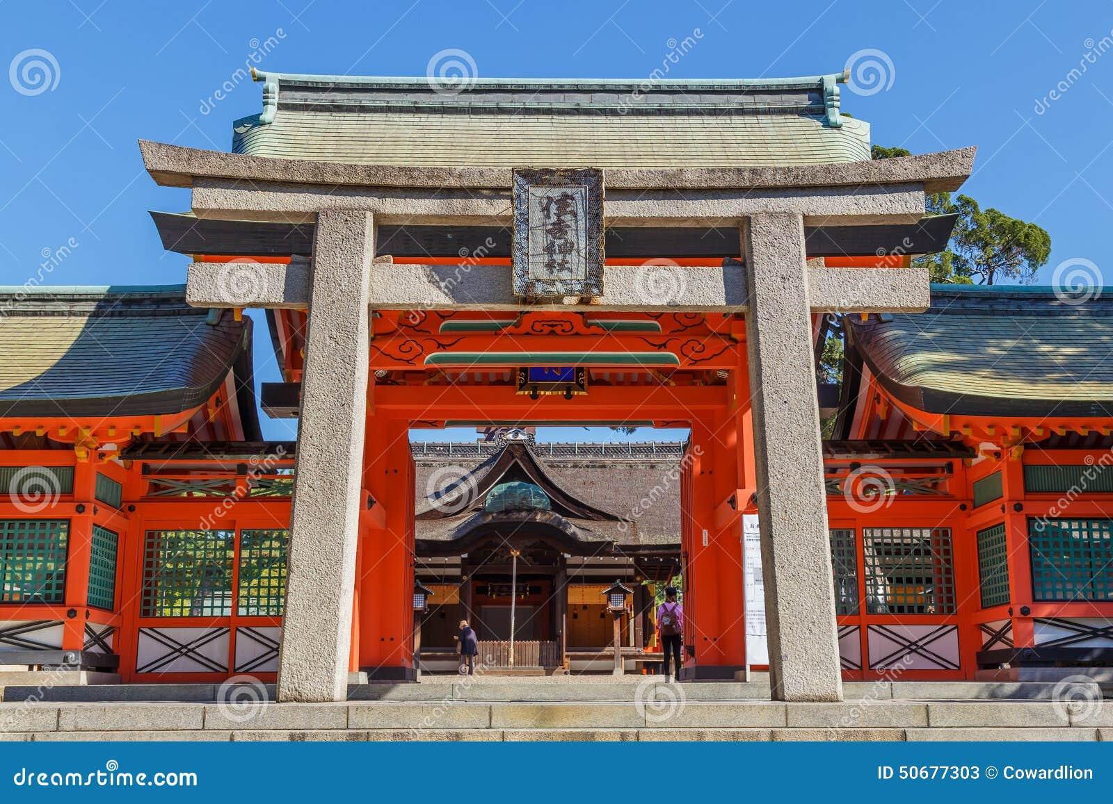 Download Sumiyoshi盛大寺庙在大阪 库存图片. 图片 包括有 传统, 全部, 布琼布拉, 橙色, 日语, 大阪 - 50677303