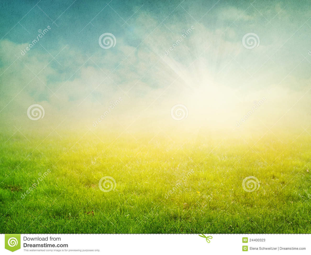 Summer abstract nature background