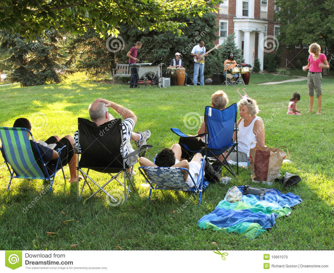 Summer Afternoon Jazz Editorial Image Image 10661070