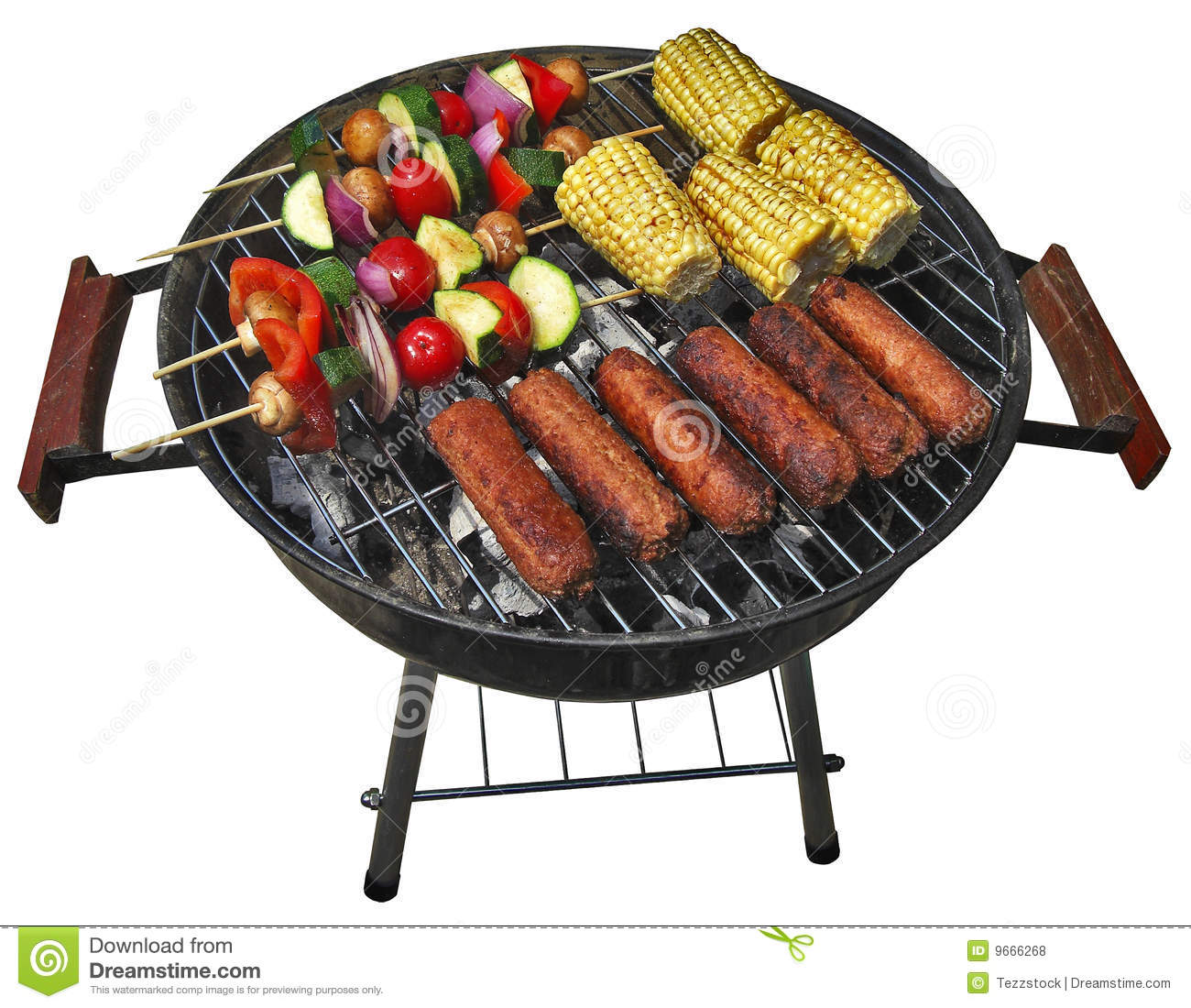 Summer Barbecue Royalty Free Stock Photos Image 9666268