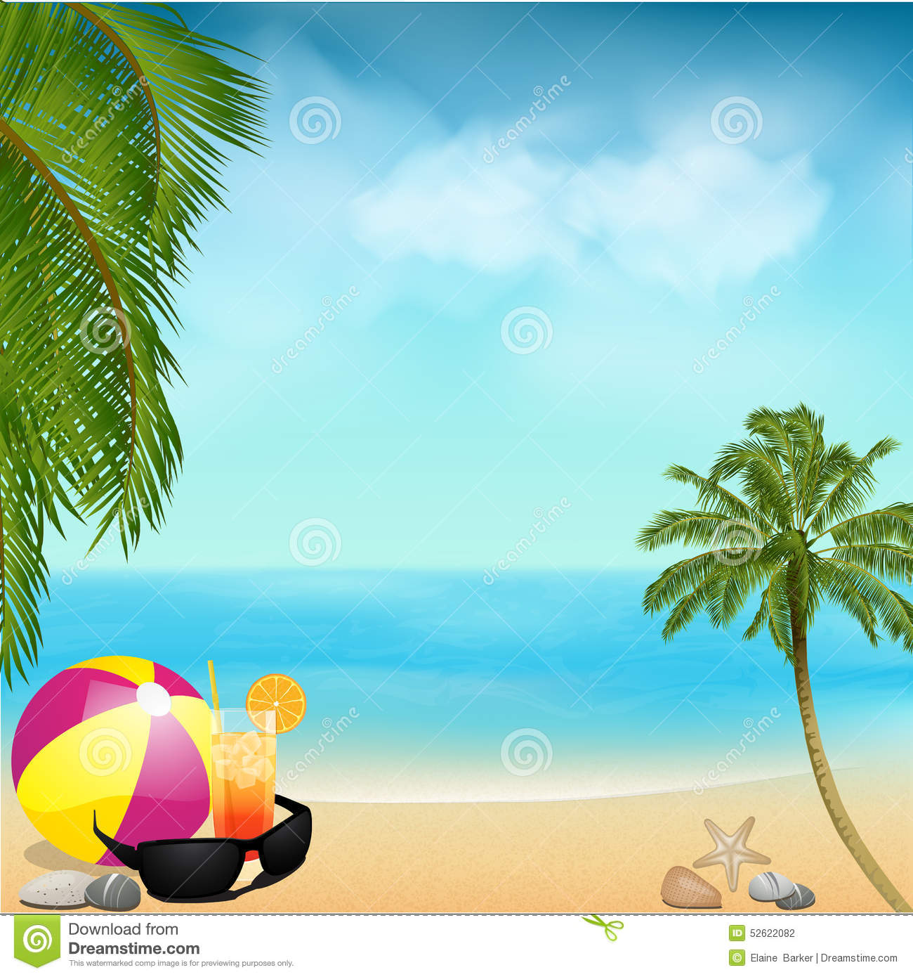 Beach Ball Background Image collections - Wallpaper And
