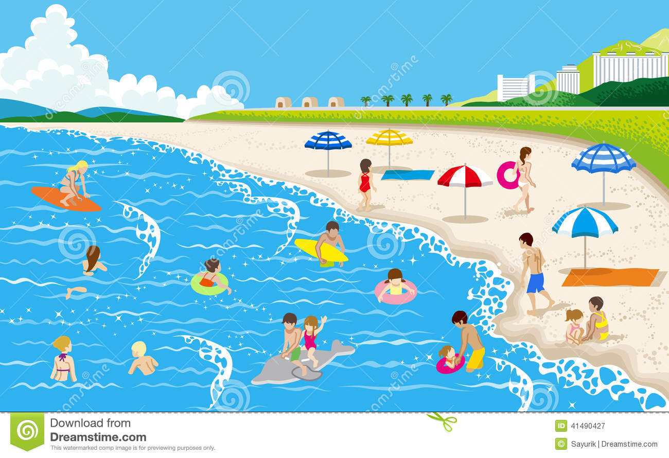 sea bed beach vector - photo #30