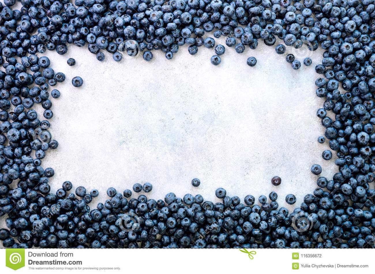 Summer berries background. Top view. Food frame with assorted mix of strawberry, blueberry. Vitamin, vegan, vegetarian