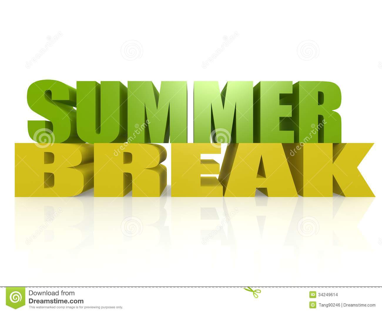 Summer Break Stock Ima...