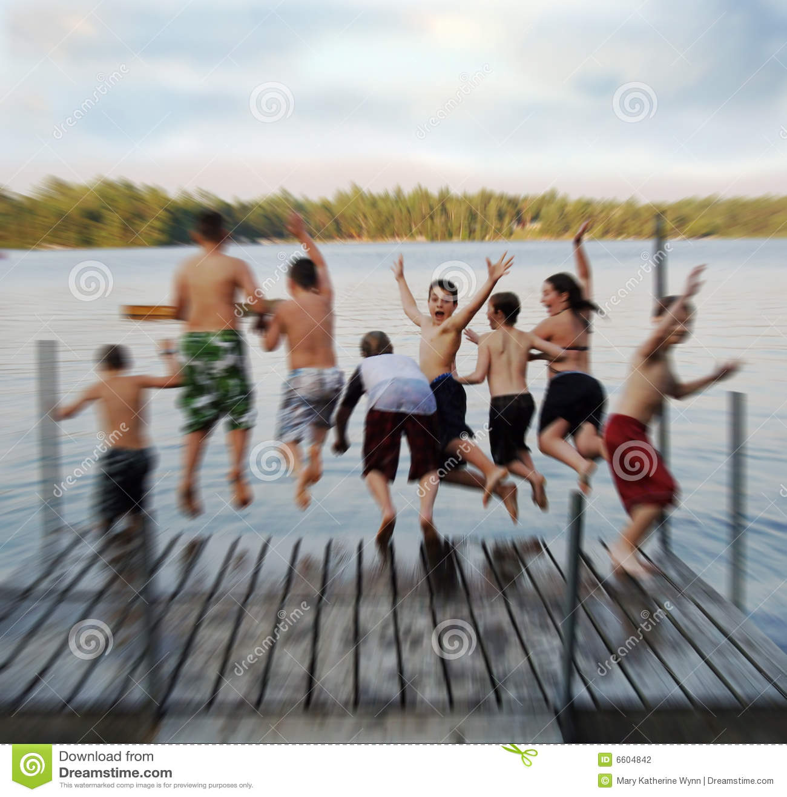 Summer camp blur