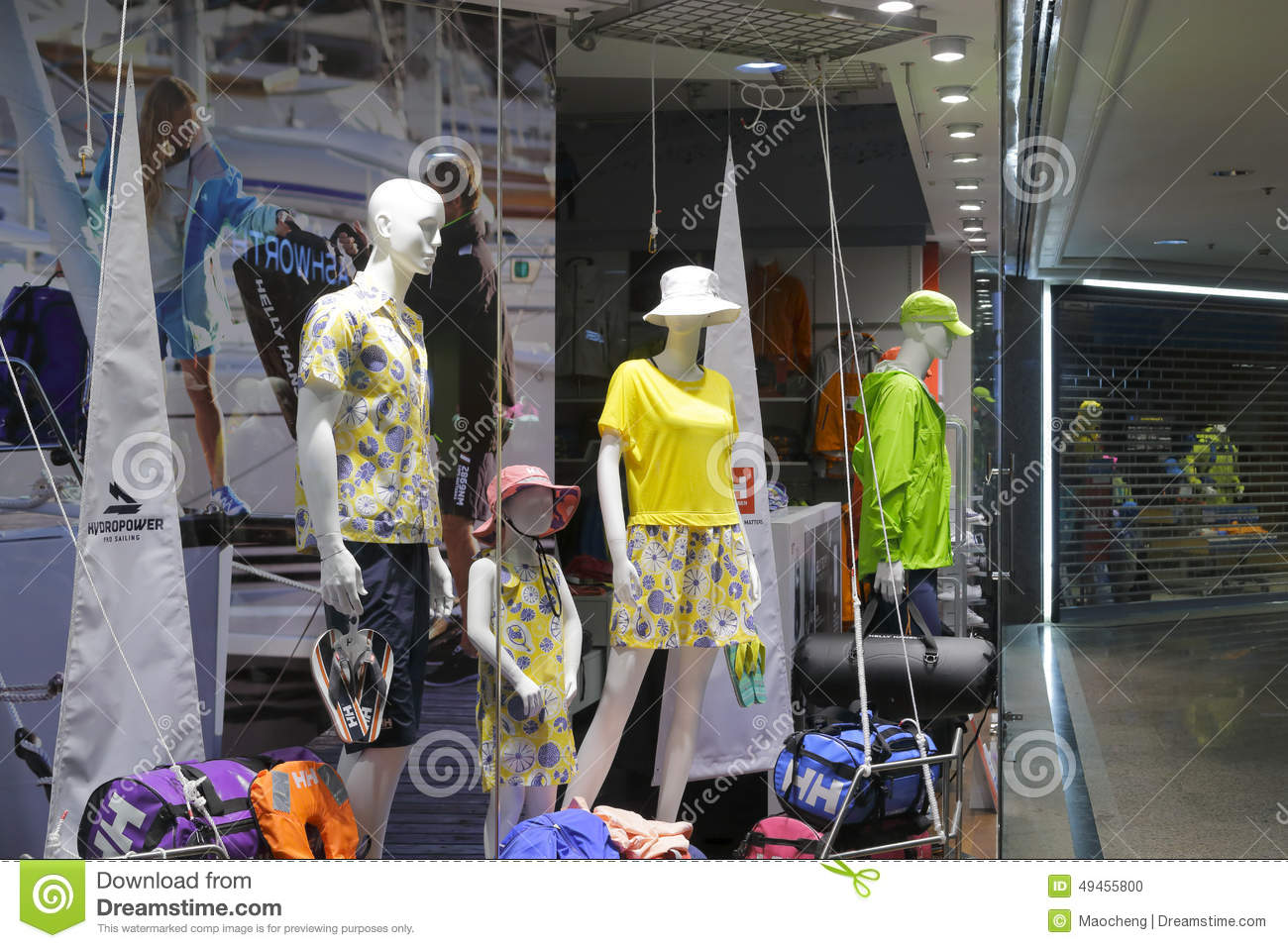 Casual clothing stores