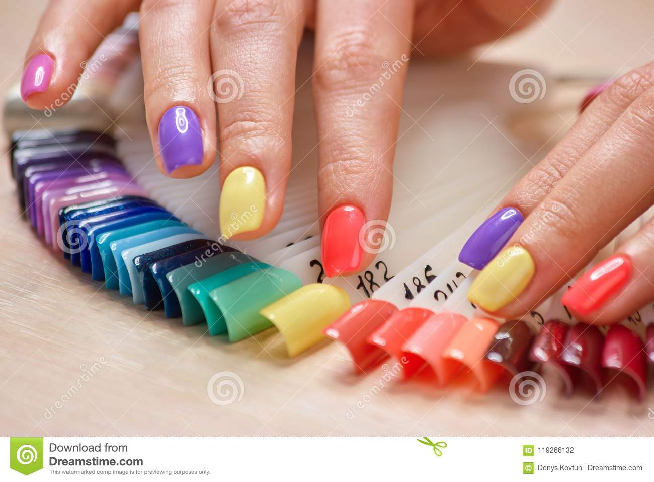 Nail Summer art collection for girls pictures