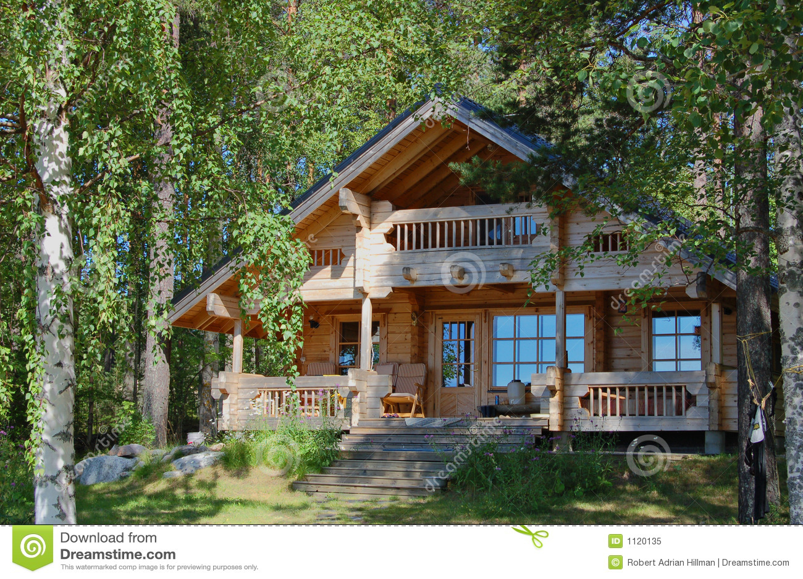 Summer Cottage Royalty Free Stock Photo Image 1120135